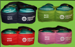 Personalised Embroidered Any Name & Club Drakes Pride 4 Bowl Carriers 4 Colours FREEPOST UK